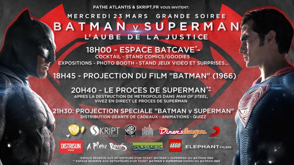 affiche skript batman vs superman